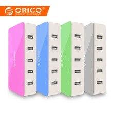 ORICO 5 порты и разъёмы Desktop зарядное устройство мобильный зарядное устройство для телефона для путешествий USB быстро Смарт для смартфонов samsung iPhone планшеты