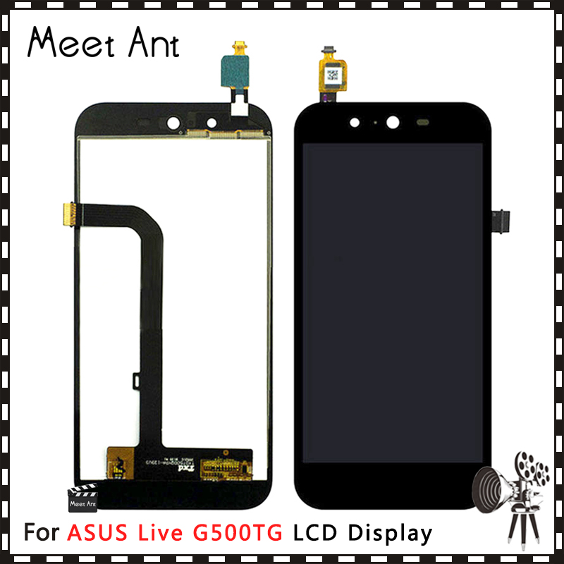 10pcs/lot High Quality 5.0'' For <font><b>ASUS</b></font> <font><b>Live</b></font> <font><b>G500TG</b></font> LCD Display Screen With Touch Screen Digitizer Assembly image