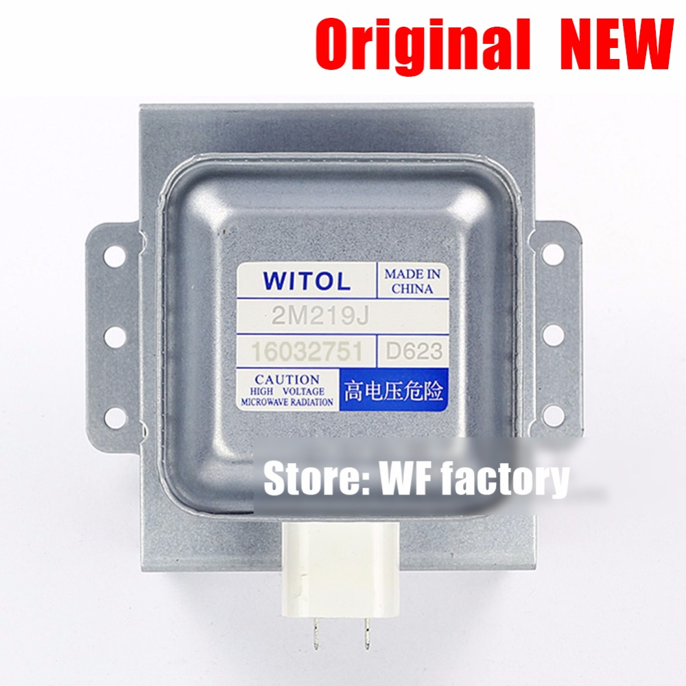 Original NEW microwave Oven parts accessories Magnetron for midea WITOL 2M219J magnetic tube disassemble 9 into a new genuine original microwave oven magnetron for midea witol 2m219j magnetic tube disassemble 9 into a new 5 microwave ovens mica