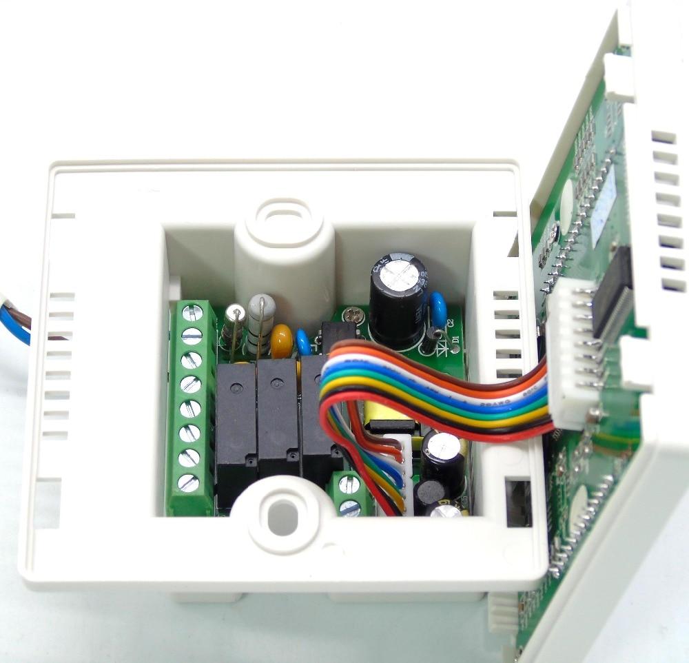 vmc manual operation fresh air system with fan ventilator control-in