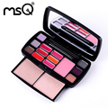 Professional Excellent Travel Suit Makeup Kits Women Cosmetic With Lipstick Blush For Fashion Beauty MSQ Brand