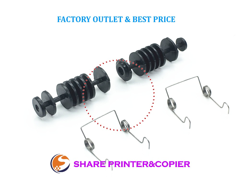 Share new Paper Delivery Roller New Fuser Top Cover pick up roller and Sping for <font><b>HP</b></font> 1007 1008 1213 1136 1216 1108 1106 <font><b>1102</b></font> image
