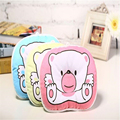 2016 Cute Cartoon Bear Design Baby Pillow Cotton Pillow Infant Toddler Shaping Pillow Newborn Soft Neck Pillow 24x18cm