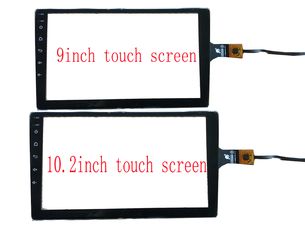 9inch 10 2inch usb touch screen with Frame support Win7 8 10 Raspberry Pi Android