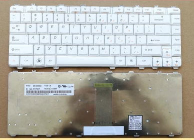 US new laptop keyboard for <font><b>lenovo</b></font> Y450 Y460 Y550 Y460P <font><b>Y560</b></font> y460C V460 B460 English white image