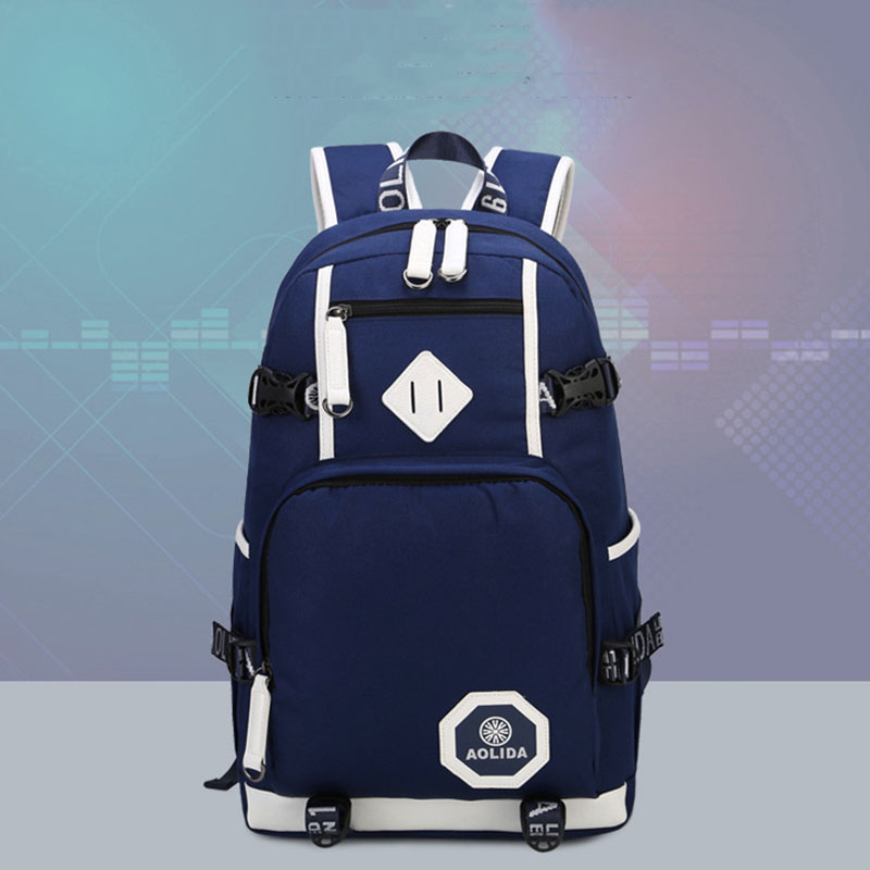 Men Backpack Fashion Male Backpack Youth Teenage Backpacks For Teen Boys Laptop Bagpack Mochila Masculina Boy Men Travel Bags