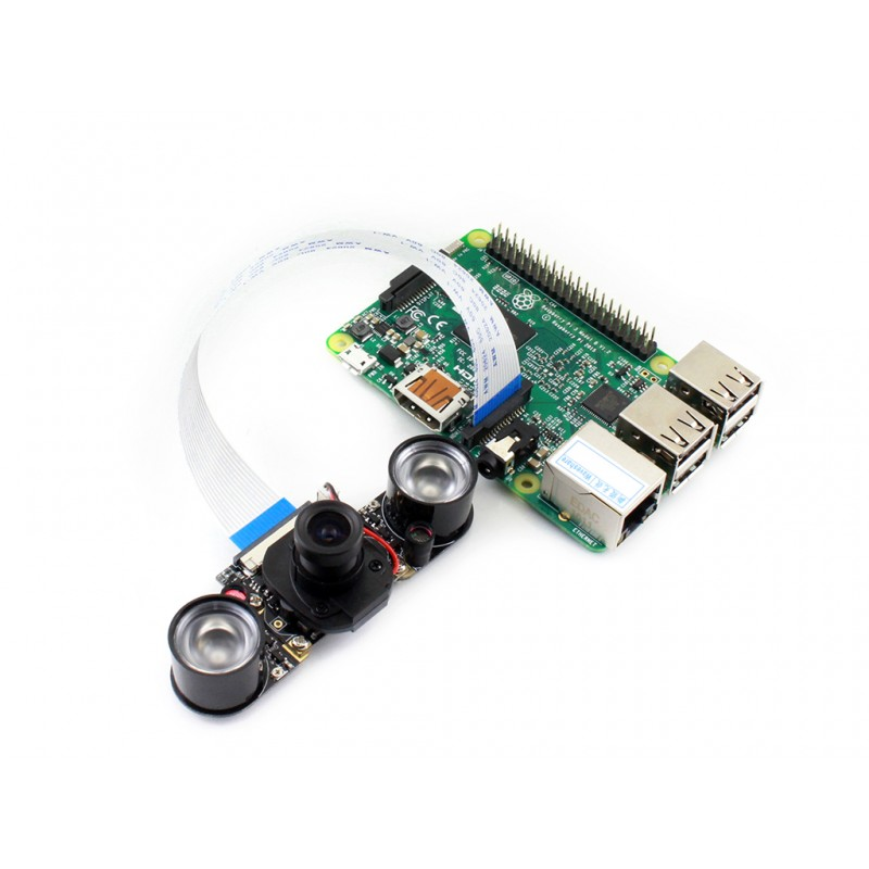 Raspberry Pi Camera Module RPi IR-CUT Camera Embedded IR-CUT Supports Night Vision 5 megapixel 3.6mm adjustable Focus