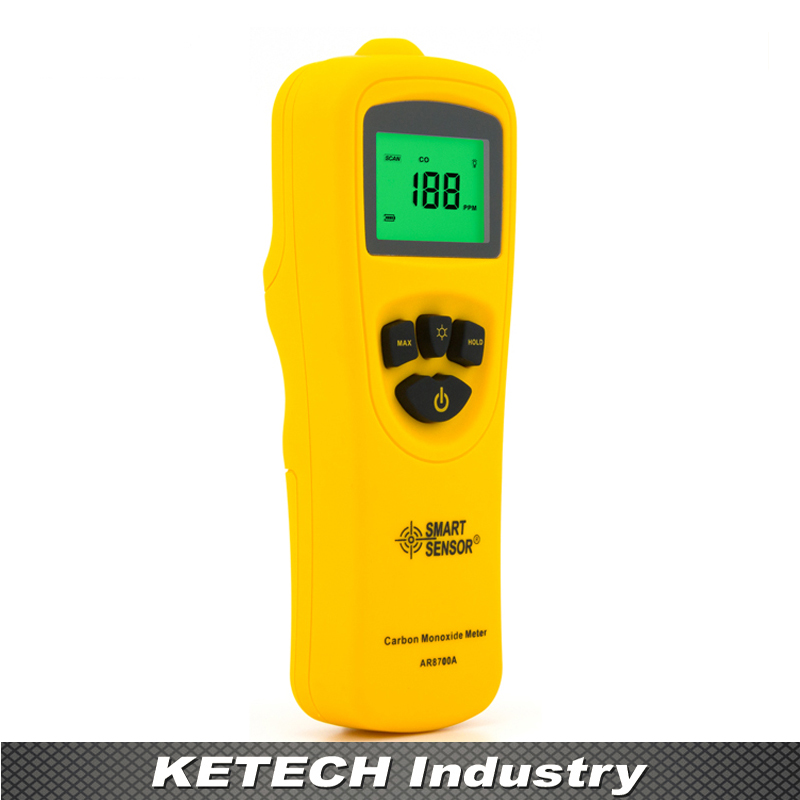 AR8700A Digital Carbon Monoxide CO Gas Monitor Tester Detector