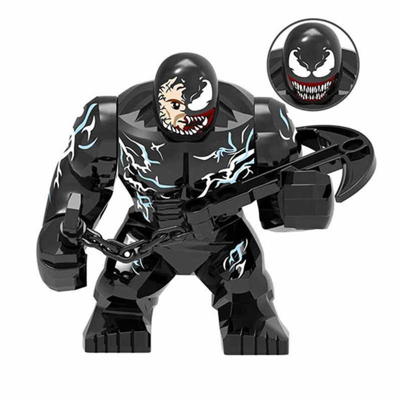 Kids Favorite Venom Carnage Anti-Venom Riot DIY Model Building Blocks Kit Educational Toys Birthday Gifts