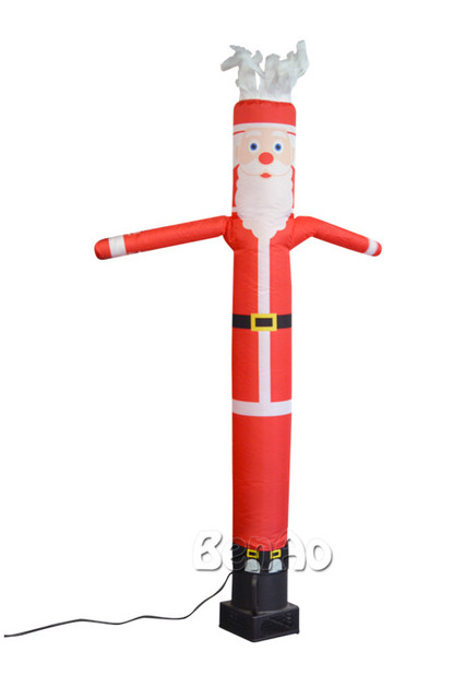 Blower For Inflatable Decorations : Ad free shipping m height christmas inflatable santa