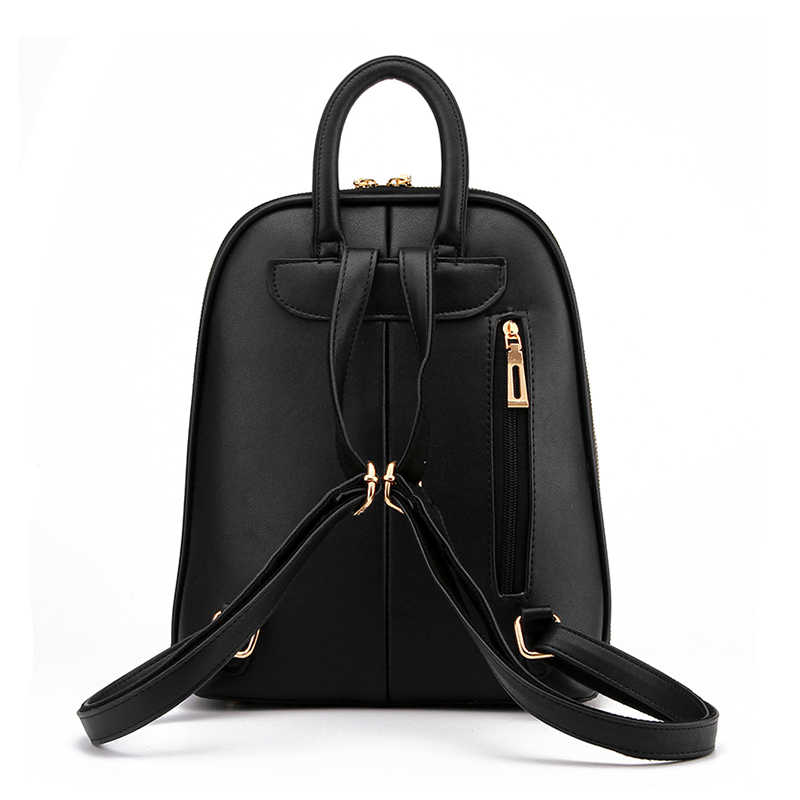 Brand бренд 2017, однотонный высококачественный рюкзак из искусственной кожи, женские дизайнерские рюкзаки для подростков, роскошные женские рюкзаки