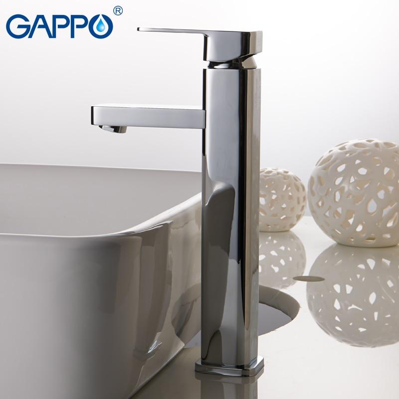 GAPPO Basin Faucet basin sink water taps bath mixer tap waterfall faucet bathroom deck mounted bath