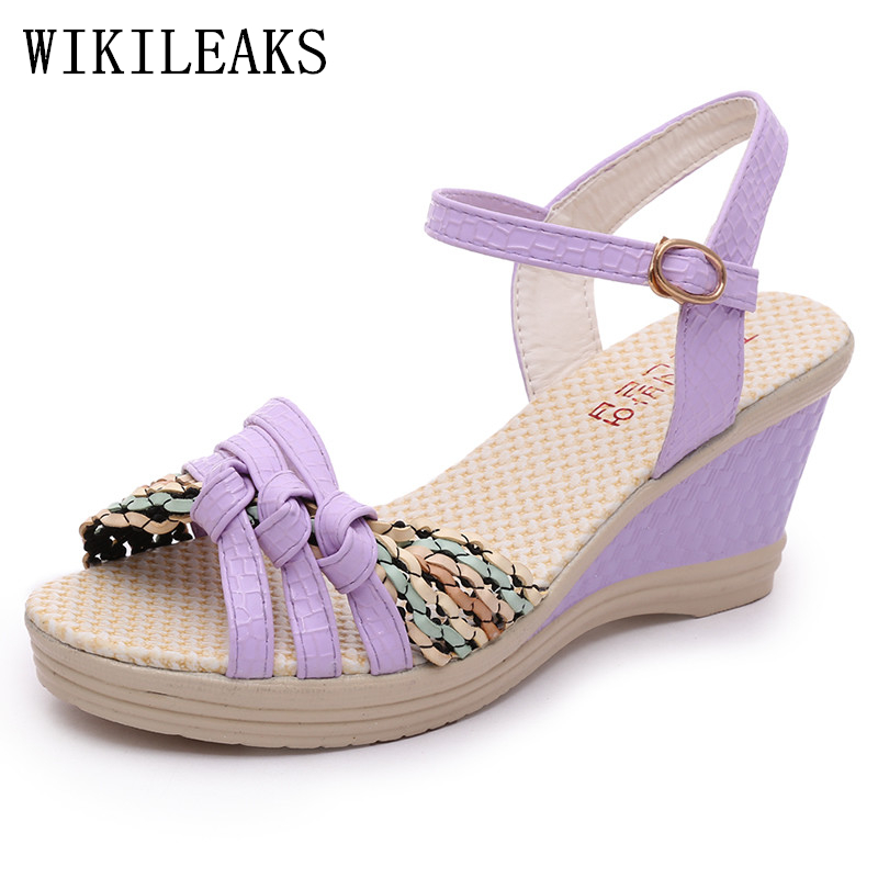 designer wedges bohemian sandals summer shoes woman chaussures femme ete 2017 zapatos mujer platform gladiator sandals women 2017 summer new rivet wedges sandals creepers women high heel platform casual shoes silver women gladiator sandals zapatos mujer
