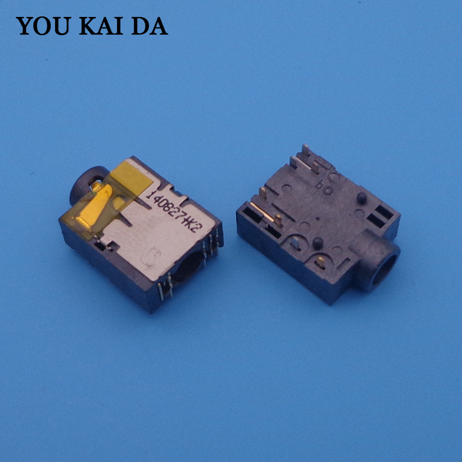 Audio Female Socket Port for Lenovo S300 S400 G480 G580 G485 3.5mm Headphone microphone jack connector-in Computer Cables & Connectors from ...