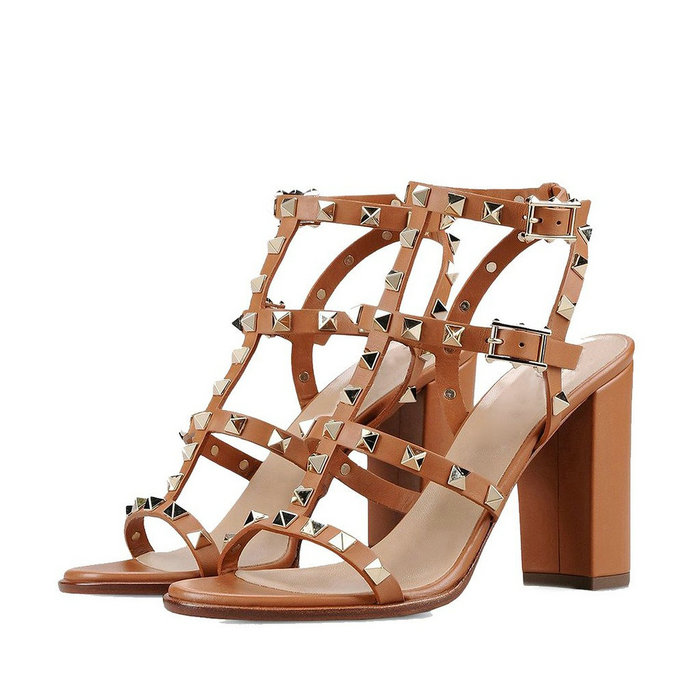 ФОТО Women's Block Heel Shoes Big Size Sandals Gladiator Studded Pumps Ankle Strap High EU 35 46