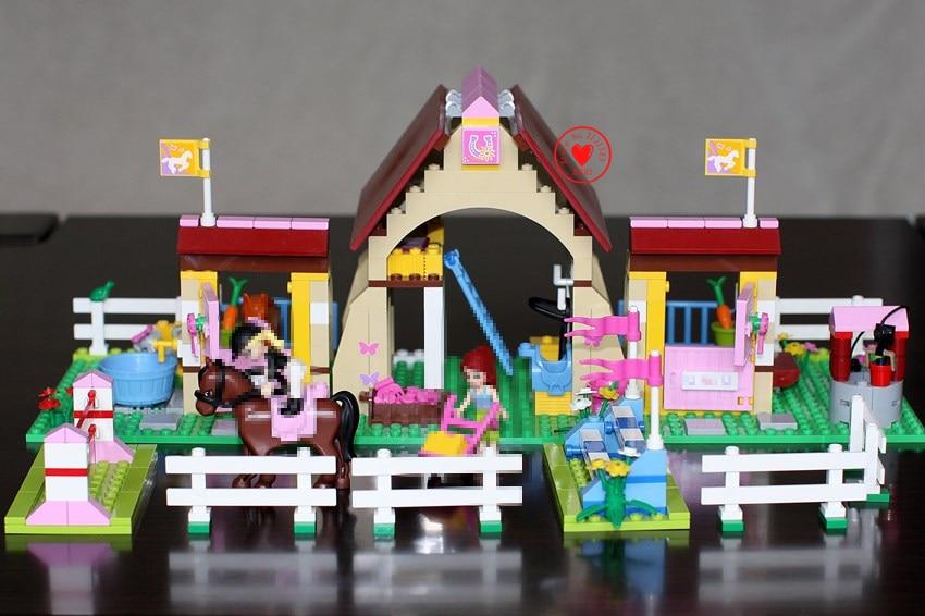 New Friends Heartlake Stables Mia's Farm fit legoings friends figures house Building Blocks Bricks diy toys girls kid gift set