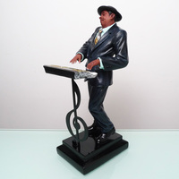 Wedding Decoration Music Characters Craft Furnishings American Jazz Electronic Piano Figures Statues Sculptures Home Deco