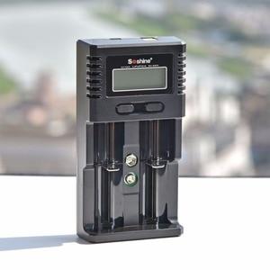 Image 4 - 100% Original Soshine H2 H4 Intelligent Lithium LCD Charger For 18650 26650 16340 Li ion/AA AAA Ni MH/LiFePO4 9V Battery Haiyan