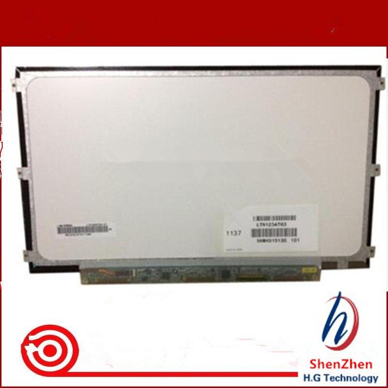 12.5 pouce lcd matrice LTN125AT01 B125XW01 B125XW01 V.0 LP125WH2 TLB1 pour lenovo U260 U201 X220 X220I portable lcd écran d'affichage