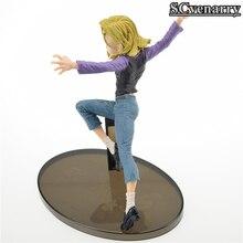 Dragon Ball Z Action Figure Android 18 Lazuli Model PVC Figure 18CM