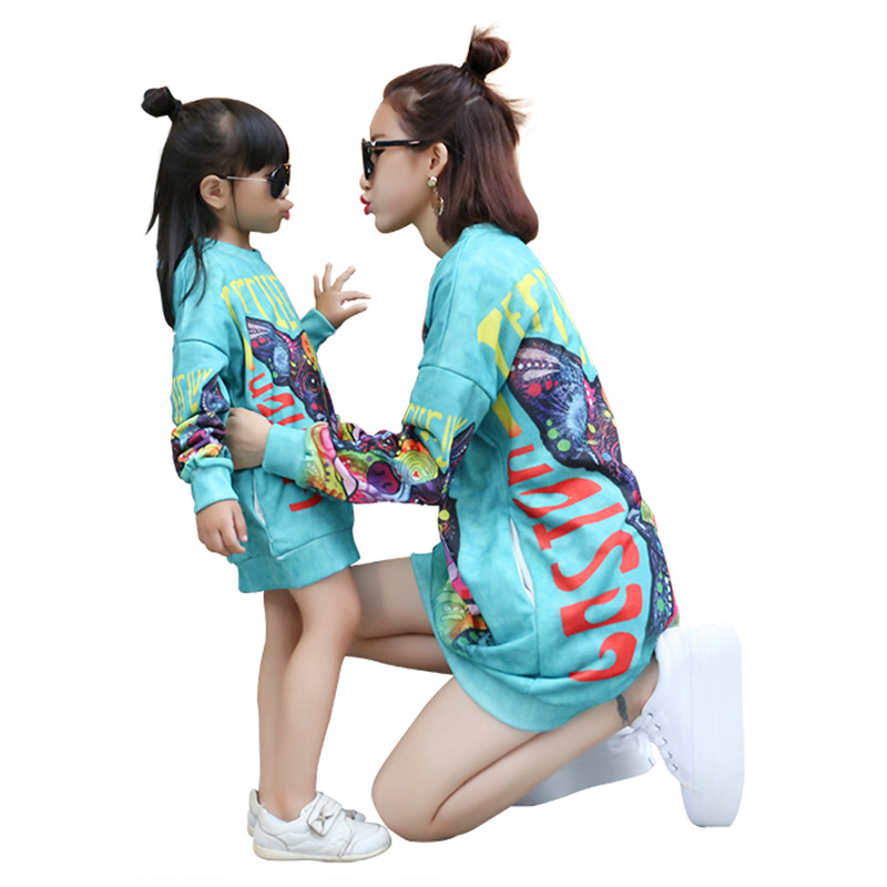 2019 New Autumn Girls Hoodies Family Look Sweatershirt Matching Mother Daughter Clothes Mommy and Me Clothes Sisters 2019 New Autumn Girls Hoodies Family Look Sweatershirt Matching Mother Daughter Clothes Mommy and Me Clothes Sisters