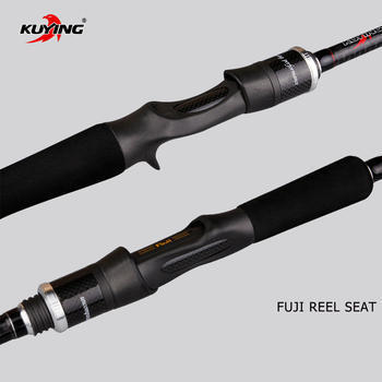 Carbon Fiber Cane | KUYING Pirate Casting Spinning M 2.58m 8'6