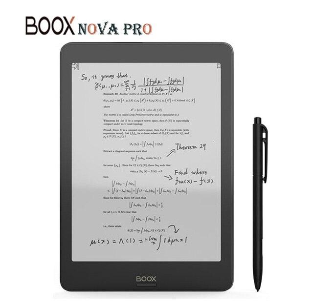 Lettore di e Book ONYX BOOX NOVA PRO il primo eReader Versatile 2G/32G contiene lettore di eBook a schermo piatto a doppio tocco e luce frontale