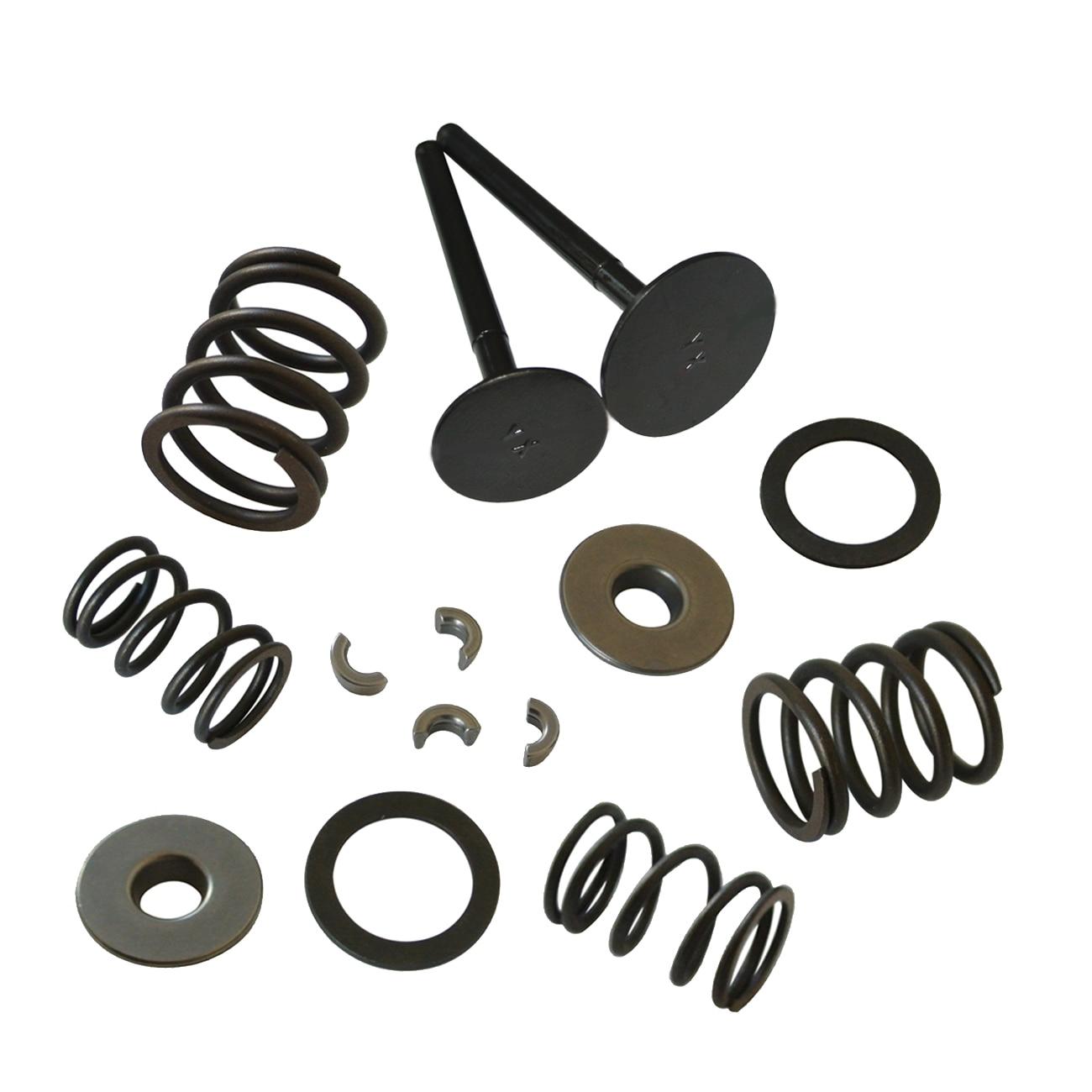 Engine Intake Exhaust Valves & Spring Kit For YX 150cc Pit Pro Travel Dirt Bike