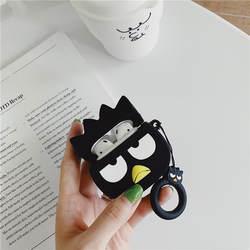 Забавный стиль ворона для Apple Airpods чехол мультфильм Bluetooth наушники силиконовый чехол для Air pods чехол для наушников коробка Funda