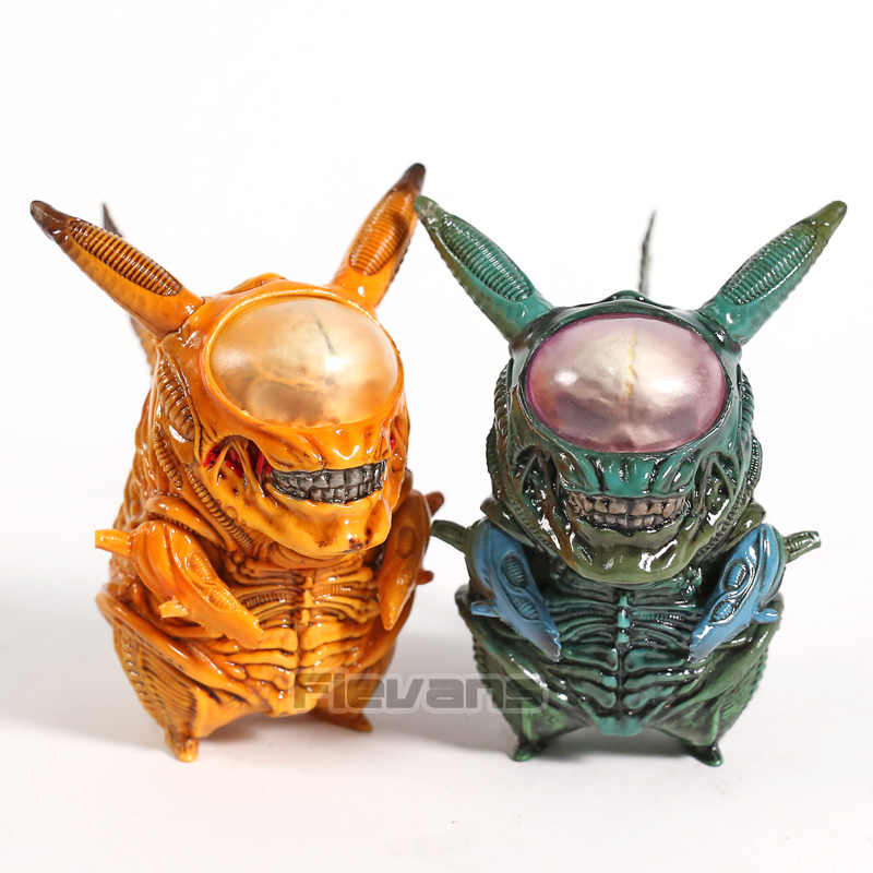 Anime Monstros Alienígenas PVC Figura Collectible Toy Modelo