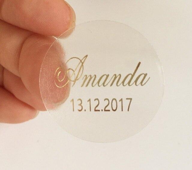 Custom BABY BRIDAL SHOWER Stickers Wedding Invitation Envelope Seals Baptism Christening First Communion Favor Gifts Labels