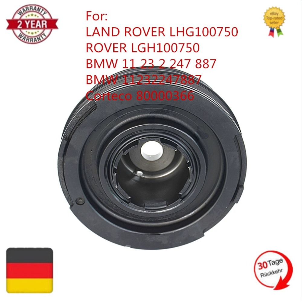 11232247887 11237801977 80000366 New Crankshaft Pulley Damper For 2004 Land Rover Freelander Fuse Box Diesel M47 20l Bmw 3series E46 E39 In Pistons Rings