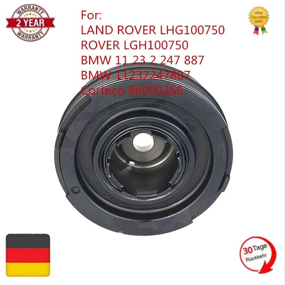 AP03 11232247887 11237801977 80000366 CRANKSHAFT PULLEY DAMPER For LAND ROVER FREELANDER DIESEL M47 2.0L FOR BMW 3SERIES E46 E39