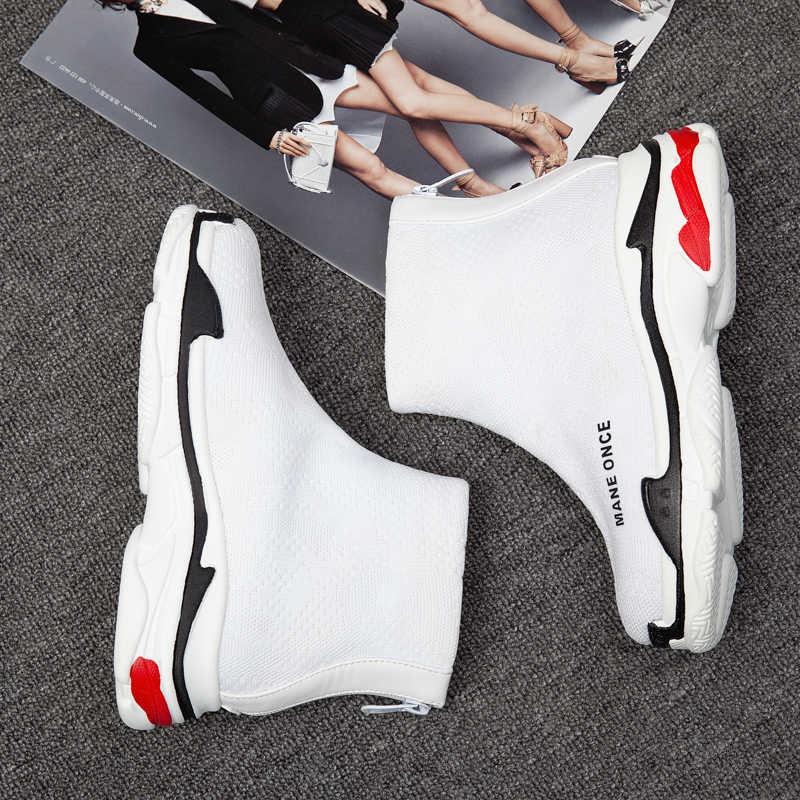 QZYERAI Nieuwe herfst en winter warm vrouwen laarzen enkel enkellaarsjes modieuze outdoor laarzen warm vrouwen schoenen