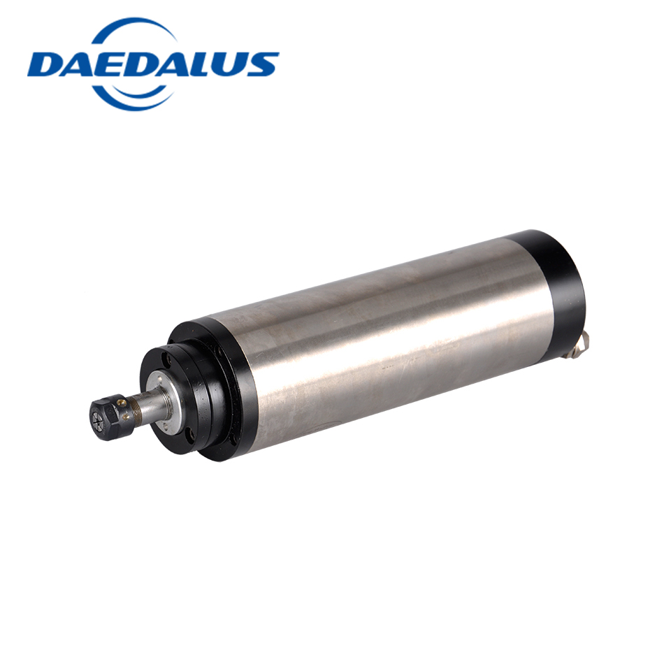 1.5kw Water Cooled Spindle Motor 65mm ER11 110V/220V High Speed 24000rpm 1500W CNC Router Spindle Milling With 4 x Bearings 1 5kw spindle motor water cooled 65mm er11 220v 1500w cnc spindle diameter of 80mm