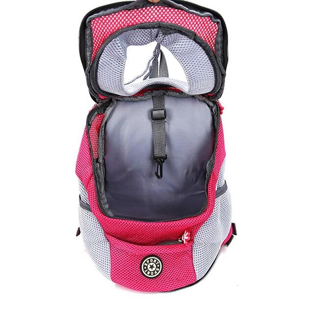 Pet Cat Dog Front Backpack Carrier Travel Bag  3