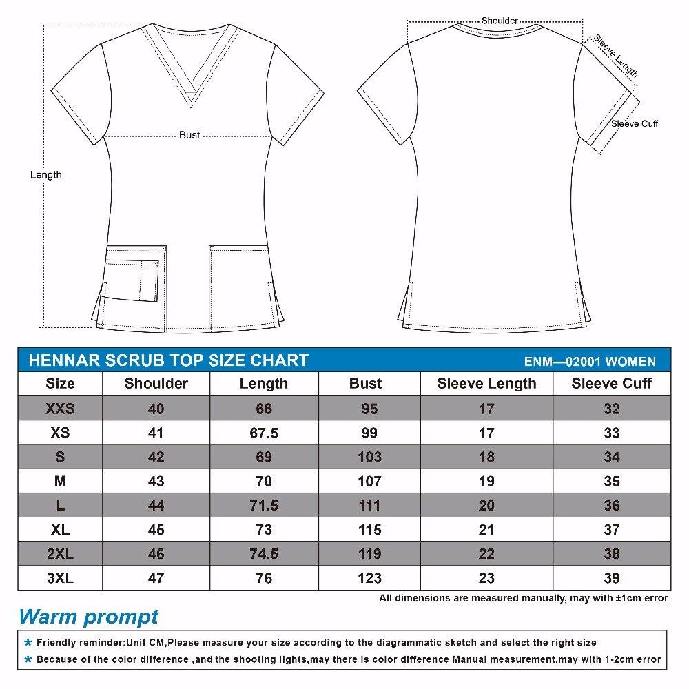 Image 2 - Brand medical scrub tops for women surgical scrubs,scrub uniform in 100% print cotton maotou seriesScrub Tops & Bottoms   -