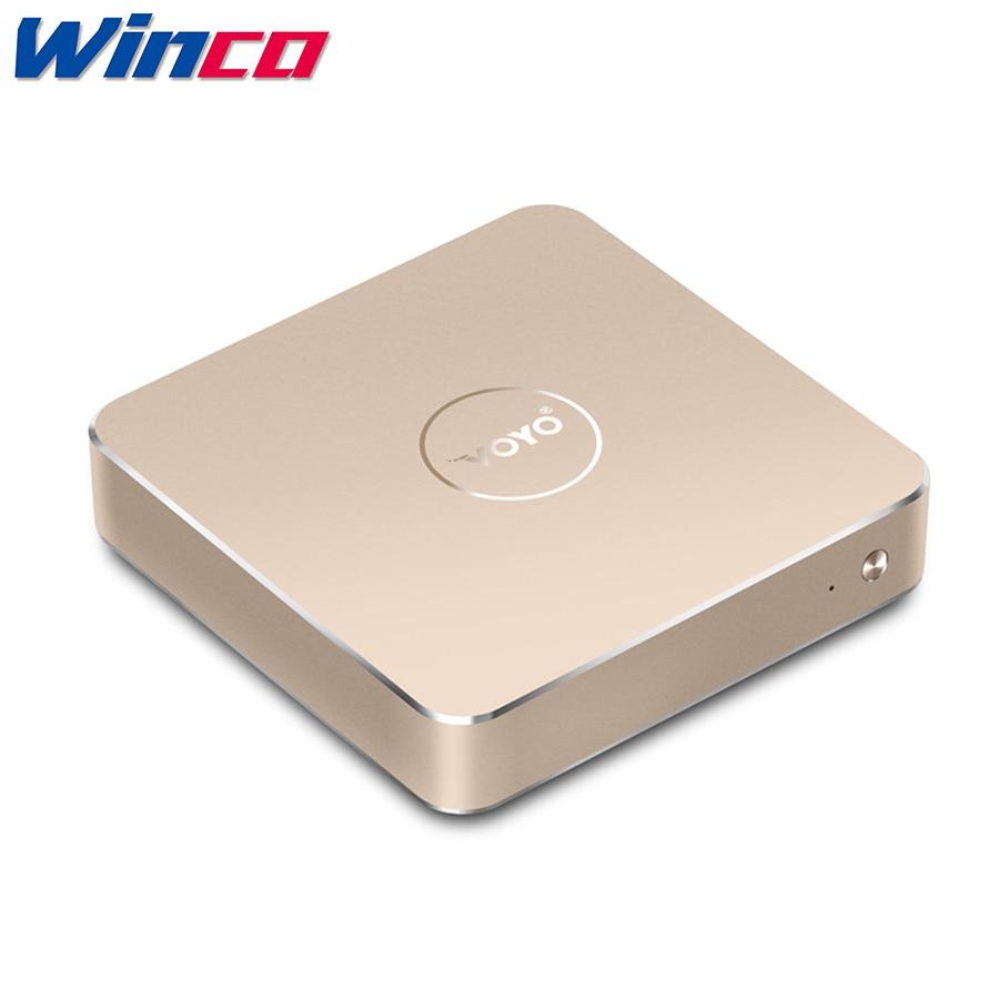 VOYO VMac Mini PC Intel Apollo N4200 License Windows 10 Pocket 4GB/8GB DDR3L RAM