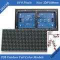 18 pçs/lote (1 metro Quadrado) P20 Ao Ar Livre 2R1G1B Janela Full Color LED Módulo Do Painel 320*160mm 16*8 pixels