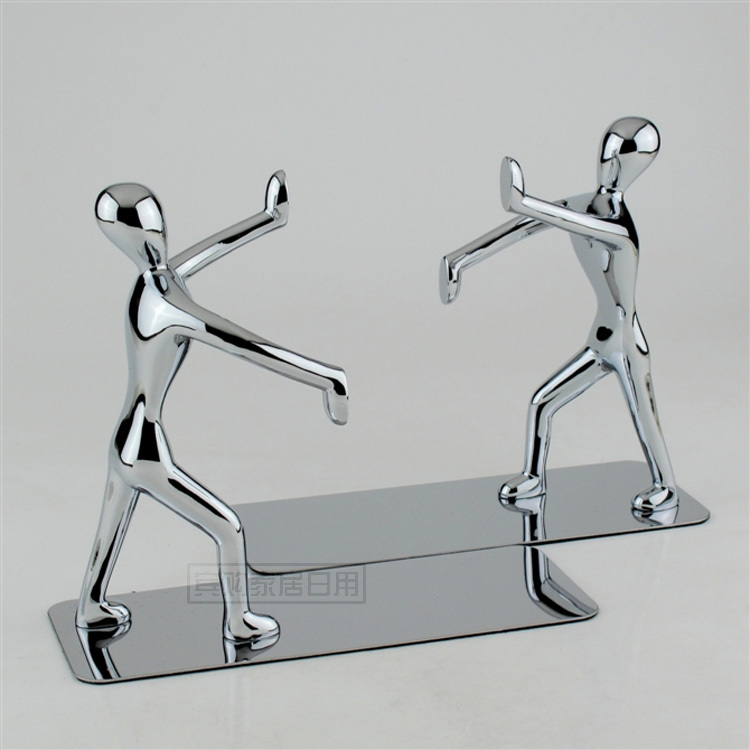Fashion Stainless steel Portable Folding Tablet Tablature Bookend Book Stand Reading Holder Book Holder