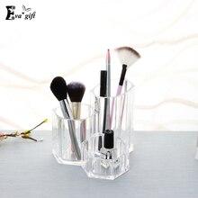 Desktop Storage Cosmetic Box Crystal Acrylic Makeup tool storage holder pen rack