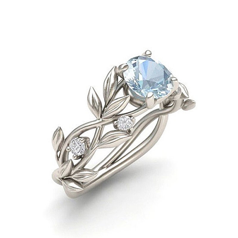 LNRRABC Finger-Rings Flowers Crystal Fashion Jewelry Stainless-Steel Women Wholesale