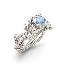 LNRRABC кольца на палец с цветами, кольца из нержавеющей стали для женщин, кольцо с кристаллом, модное ювелирное изделие,, Прямая поставка