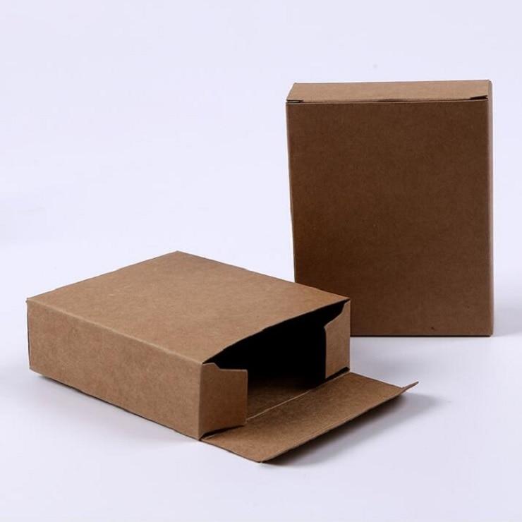 Gift Box Wedding Invitations: Aliexpress.com : Buy 50pcs/lot, 10x8x3cm Kraft Paper Gift