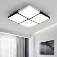 2017 sqares светодиодный свет для домашнего офиса библиотека исследование светодиодные полосы Luminaria Кухня потолочные светильники завод промышл
