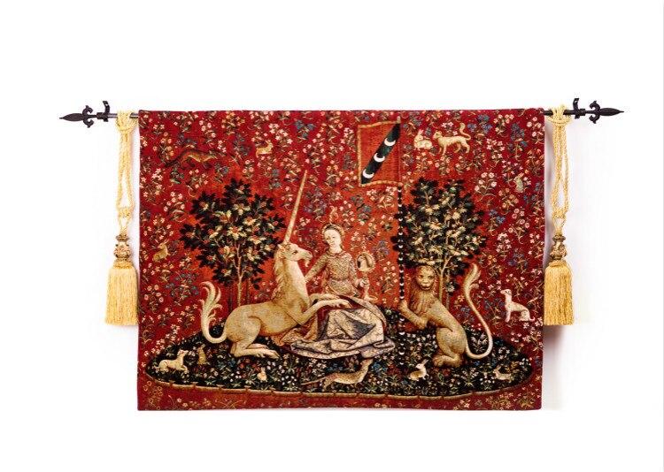 Бельгия гобелены, Искусство Фрески, гостиной украшение картину, дворянка-визуальное ощущение