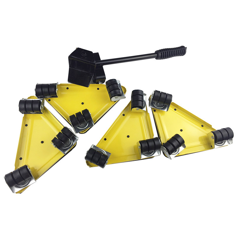 5 PCS Furniture Transport Set Furniture Lifter Furniture Slides Mover Rollers 4 Wheeled Corner Movers 1 Wheeled Lifter in Hand Tool Sets from Tools