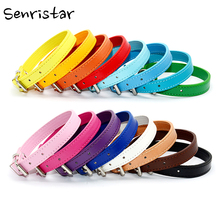 Soft Leather Pet Dog Collar for Small Medium Large Dogs Neck Strap Safe Fashion Puppy Kitten Cat Basic
