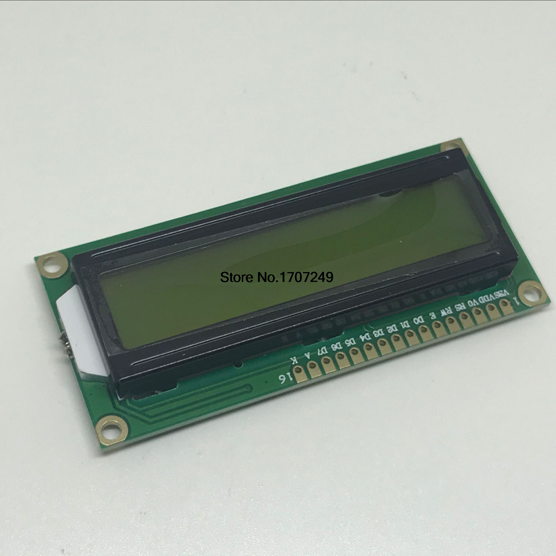 1602 Yellow-Green backlight 5V 16*2 LCD Module Display 1602A