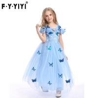 Halloween Cinderella Full Dress Dress Princess Dress Cosplay Frozen High Quality Clothes